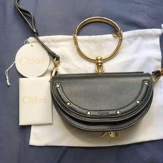 Chloe Nile Black Bag Chanel Fendi Hermes Gucci Givenchy Saint Laurent celine Valentino
