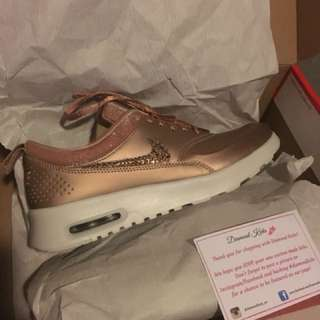 Rose Gold Nike Thea's