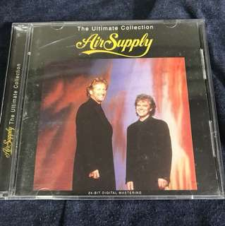 Air Supply The Ultimate Collection CD + VCD