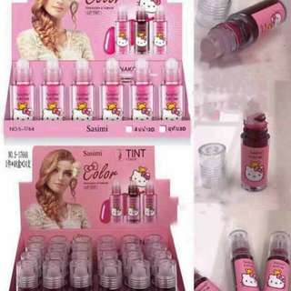 Hello Kitty Liptint 24 pcs