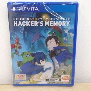 (Brand New) PS Vita Digimon Story Cyber Sleuth: Hacker's Memory / R3