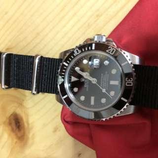 高級玩具錶 Rolex 116610ln noob v6 黑十 黑水鬼