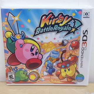 (Brand New) 3DS Kirby Battle Royale / US