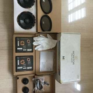 Monitor precision M1 component speakers