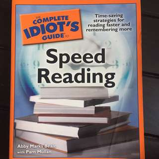 Complete Idiot's Guide to Speed Reading
