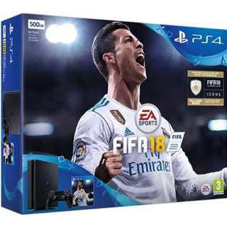 WTB/ WTT New/ Preowned FIFA 18 PS4 Slim Console.