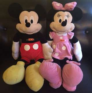 Minnie Mouse & Mickey Mouse