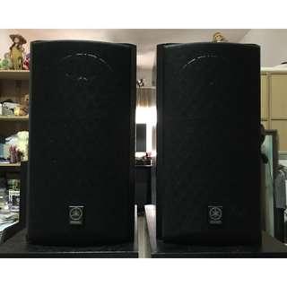 Yamaha NS-M325 Studio Monitor Bookshelf Speakers (6 Ohms, 120 Watts)