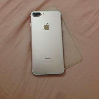 Iphone7 plus 128gb玫瑰金