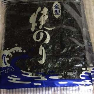 【DH 預訂】日本白石島瀨户內海的大片海苔(原味)