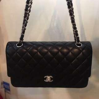 👑18年買入 全新Chanel Classic 25cm 羊皮 有單