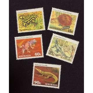 動物紀念郵票全新