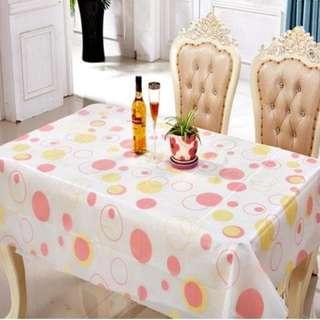Taplak meja makan anti air ukuran 130*180 cm- HPR084