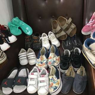 Assorted branded shoes for kids