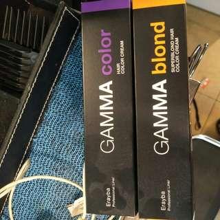 Gamma Erayba hair colour