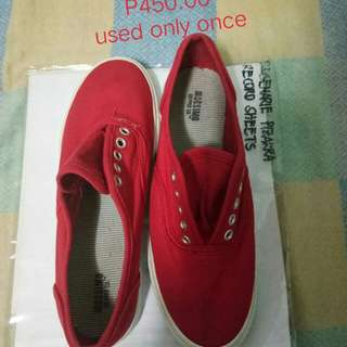 Mossimo Red Sneakers