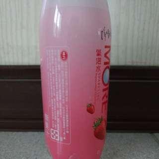🚚 MORE 草莓氣泡水