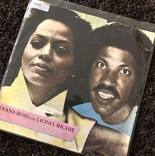 "1981 Endless Love - Diana & Lionel (7"" Vinyl Record"