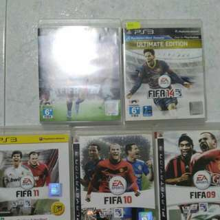 FIFA for PS3 (09,10,11,14,16)