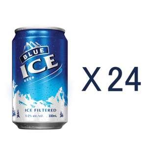 綽豐宅急@藍冰啤酒330ml x 24罐原箱