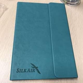 Silkair notebook lined brand new
