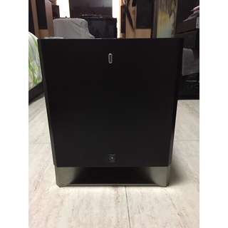 Yamaha YST-SW325 8-Inch Advanced YST II and QD-Bass Subwoofer (150 Watts RMS, Powered Active Subwoofer)