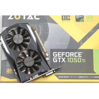 Zotac GTX 1050 Ti Mini 4GB DDR5