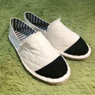 全新日系百搭女裝帆布鞋 37碼