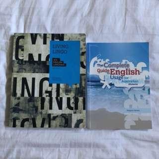 VCE ENGLANG BOOKS