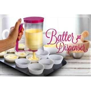 Batter dispenser gelas takar adonan kue dapur chef cake mold - HKN197