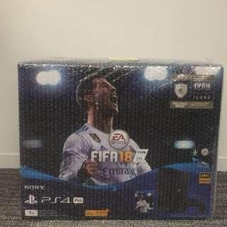 PS4 pro FIFA18 主機同捆裝