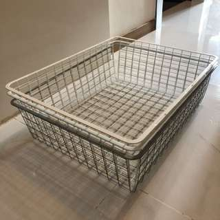 IKEA wire basket