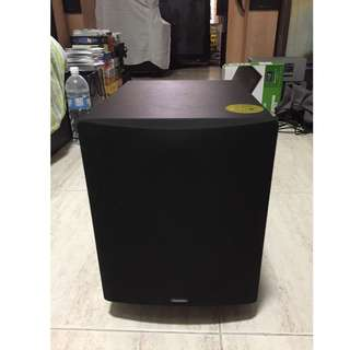 Definitive Technology ProSub 600 Powered Active Subwoofer with 8-inch woofer and 8-inch low bass radiator (250 Watts RMS, 500 Watts Max, Black) Can not power on!
