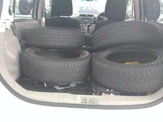 Tayar/Tyre Used/Terpakai - Bunga Bagus Lagi Dan Murah