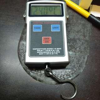 精密電子磅 手拉式 上限50公斤