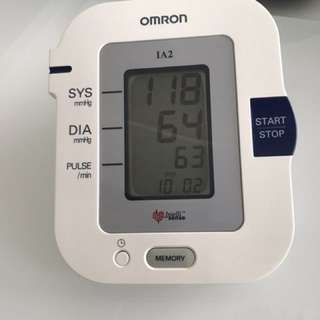 Omron Blood Pressure Monitor (without Cuff)