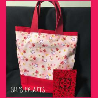 Mini tote bag for CNY