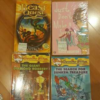 Geronimo Stilton and other books