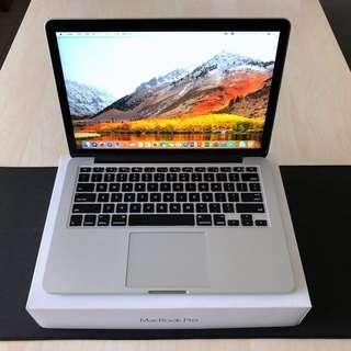 (99.99%新)2015 MacBook Pro 2.7Ghz CPU, 8gRAM, 128SSD