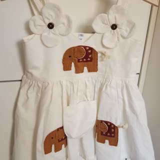 Baby girl dress size 0-1