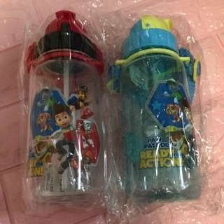 Instock Paw Patrol bottles 400ml brand new