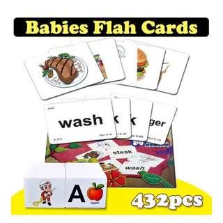 💋 BABIES FLAH CARDS