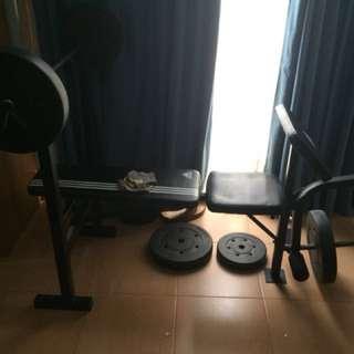 workout chest bump