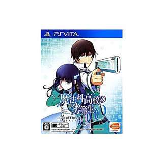 Fast deals @ $25 ‼️WTS/WTT the irregular at magic high school: out of order ps vita game