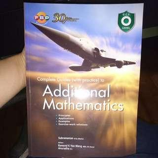O level additional math