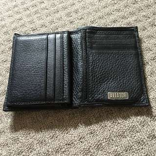 Reduced Aviator Genuine Leather Wallet