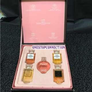 💎 Chanel Miniature Perfume Set