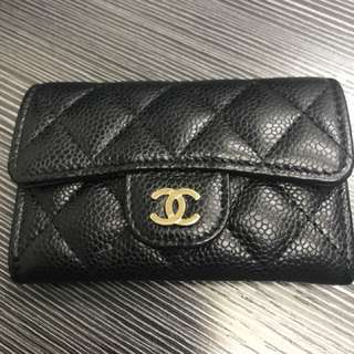 Chanel classic牛皮 Card holder 95%new