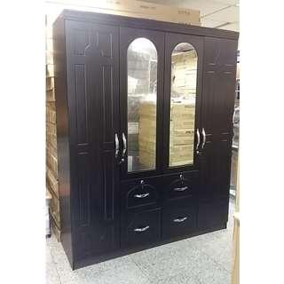TAILEE WD-423 4 DOOR WARDROBE WITH MIRROR
