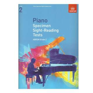 **SALE** ABRSM Piano Specimen Sight-Reading Tests Grade 2